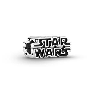 Srebrny charms 3D z logo Star Wars